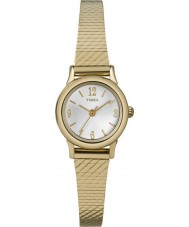 Timex T2P300 Ladies Gold Plated Bracelet Watch