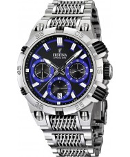 Festina F16774-5 Mens 2014 Chrono Bike Tour De France Blue Silver Watch
