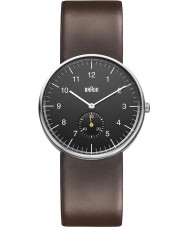 Braun BN0024BKBRG Mens Black Brown Watch