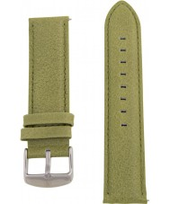 Charles Conrad CDA1006-15-L19 Olive Green Leather Strap