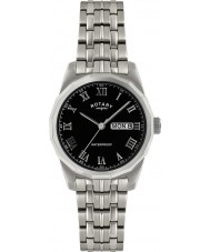 Rotary GB02226-10 Mens Timepieces Black Silver Watch