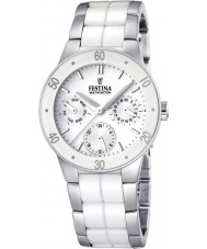 Festina F16530-1 Ladies Ceramic Multifunction Watch