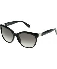 Furla Ladies Zizi SU4896S-700 Shiny Black Sunglasses