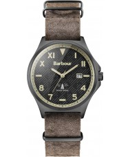 Barbour BB047BKBR Mens Marsden Brown Leather Strap Watch