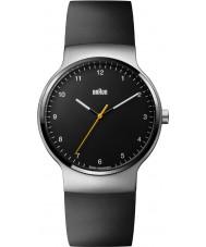 Braun BN0221BKSLBKG Mens Prestige Slim Black Rubber Strap Watch