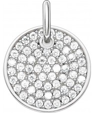Thomas Sabo LBPE0011-051-14 Ladies Love Bridge 925 Sterling Silver Pendant