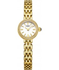 Rotary LB05053-02 Ladies Timepieces Cocktail Gold Plated Bracelet Watch