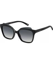 Marc Jacobs Ladies MARC 106-S D28 9O Shiny Black Sunglasses