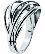 Calvin Klein Ladies Crisp Stainless Steel Bangle