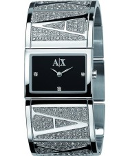 Armani Exchange AX4050 Ladies Eva Black Silver Watch