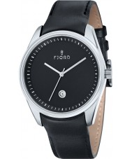 Fjord FJ-3002-01 Mens Dan 3 Hand Black Watch