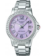 Casio SHE-4026SBD-4ADR Ladies Sheen Solar Powered Watch