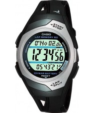 Casio STR-300C-1VER Mens Sports Gear PHYS Lap memory 60 Watch