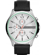 Armani Exchange AX2165 Mens White Black Chronograph Dress Watch
