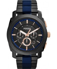 Fossil FS5164 Mens Machine Two Tone Steel Chronograph Watch
