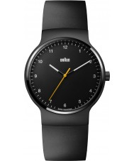 Braun BN0221BKBKG Mens Prestige Slim Black Rubber Strap Watch