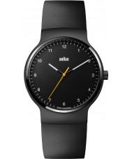 Braun BN0221BKBKG Mens Prestige Slim Black Rubber Strap Watch