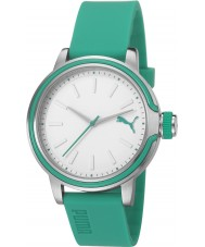 Puma PU103772004 Ultraviolet Green Silicone Strap Watch