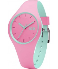 Ice-Watch DUO.PMT.S.S.16 Ice Duo Pink Silicone Strap Watch