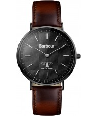 Barbour BB055BKBR Hartley Brown Leather Strap Watch