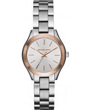 Michael Kors MK3514 Ladies Mini Slim Runway Silver Steel Watch