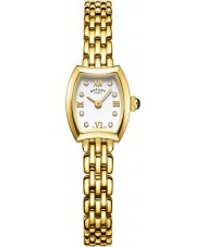 Rotary LB05055-01 Ladies Timepieces Cocktail Gold Plated Bracelet Watch