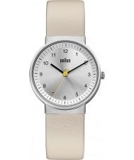 Braun BN0031SLBGL Ladies Silver Beige Watch
