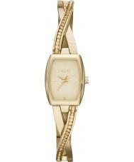 DKNY NY2237 Ladies Crosswalk Gold Stone Set Watch