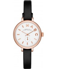Marc Jacobs MBM1352 Ladies Sally Black Leather Strap Watch