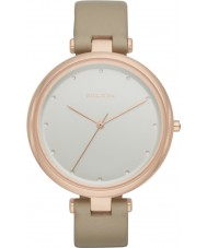 Skagen SKW2484 Ladies Tanja Oatmeal Leather Strap Watch