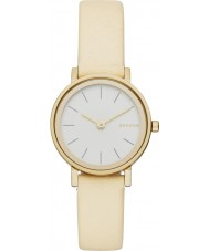Skagen SKW2444 Ladies Hald Yellow Leather Strap Watch