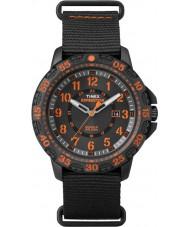 Timex TW4B05200 Mens Gallatin Black Nylon Strap Watch