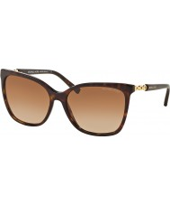 Michael Kors MK6029 56 Sabina II Dark Tortoiseshell Gold 310613 Sunglasses