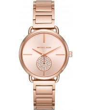 Michael Kors MK3640 Ladies Portia Rose Gold Plated Bracelet Watch