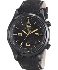 Elliot Brown 202-008-L11 Mens Canford Black Leather Strap Watch