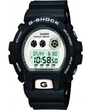 Casio GD-X6900-7ER Mens G-Shock World Time White Black Digital Watch