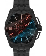 Diesel DZ4395 Mens Heavyweight Black Steel Chronograph Watch