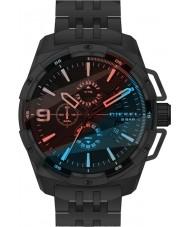 Diesel DZ4395 Mens Heavyweight Black Steel Chronograph Watch