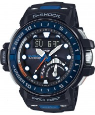 Casio GWN-Q1000-1AER Mens G-Shock Radio Controlled Black Resin Strap Watch