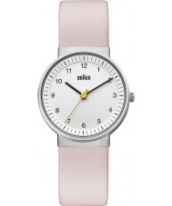 Braun BN0031WHLPKL Ladies White Pink Watch