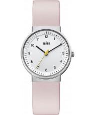 Braun BN0031WHLPKL Ladies White Pink Watch