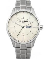Ben Sherman WB002SM Mens Silver Steel Bracelet Watch