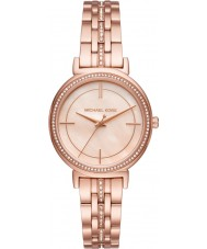 Michael Kors MK3643 Ladies Cinthia Rose Gold Plated Bracelet Watch