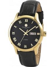 Edward East EDW5338G1 Mens Black Leather Strap Watch