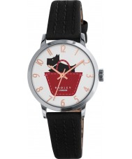 Radley RY2345 Ladies Border Black and Umber Leather Strap Watch