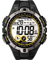 Timex T5K421 Mens Yellow Black Marathon Sport Watch