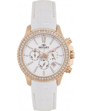 Rotary ALS00088-C-01 Ladies Aquaspeed Summer Rose White Chronograph Watch