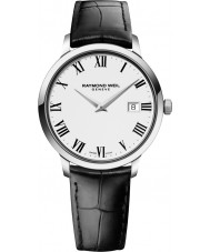 Raymond Weil 5488-STC-00300 Mens Toccata Black Leather Strap Watch