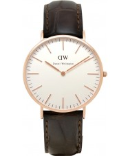 Daniel Wellington DW00100011 Mens Classic 40mm York Rose Gold Watch