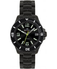 Rotary AGB00085-W-04 Mens Aquaspeed Black IP Watch